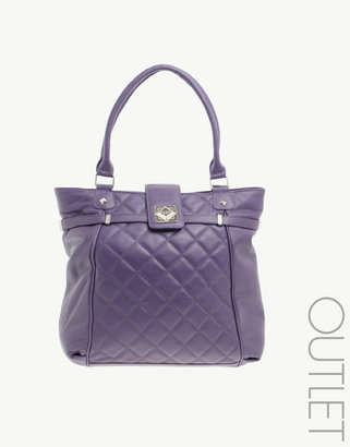 Suzy Smith Premium Leather Tote Bag - Handbags