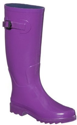 Women&#39;s Zetta Tall Rain Boots - Purple - Shoes