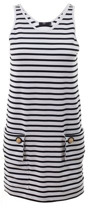 MARKUS LUPFER - Breton stripe sleeveless dress - Markus Lupfer