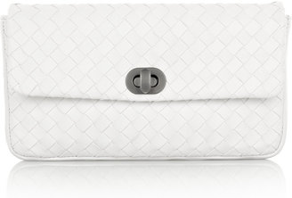 Bottega Veneta Small Intrecciato leather clutch - Bottega Veneta
