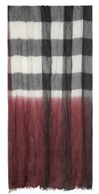 Mega Check Stole - Burberry