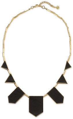 House of Harlow 1960 Leather Station Necklace - Statement Necklace