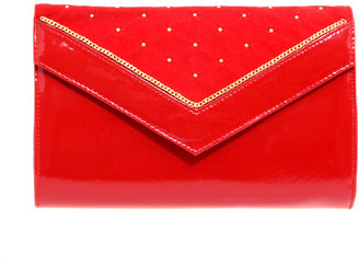 ASOS Bright Studded Envelope Clutch - Clutches