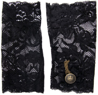 ASOS Chain Detail Lace Cuff - Luscious Lace Gloves