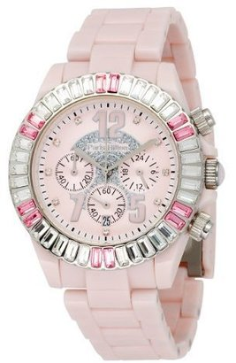 Paris Hilton Women's 138.4324.99 Chronograph Pink Dial Watch - All Things Paris