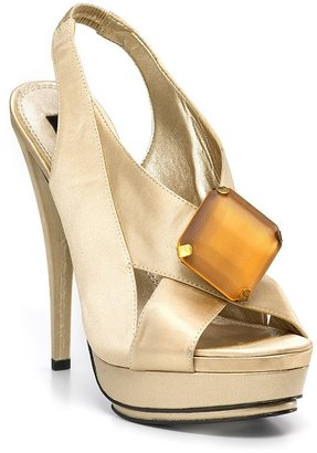 Steven by Steve Madden &quot;Rockz&quot; Platform Evening Sandals - Heels
