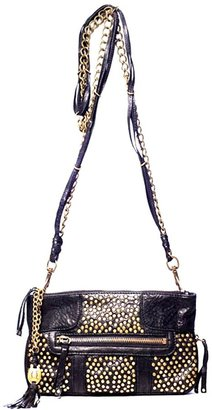 Olivia Harris Studded Chain Clutch - Get This Look-Jessica Alba