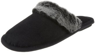 Smartdogs Women&#39;s Cardinal Velour Clog With Fur Trim Slippers - Slippers