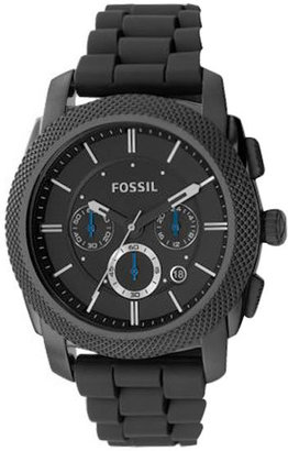 FOSSIL Chronograph Black Dial Watch - Black Dial Watches for Men