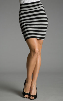 Striped Mini Skirt - Clothes