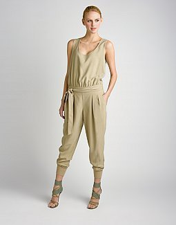 Silk Jumpsuit - DKNY