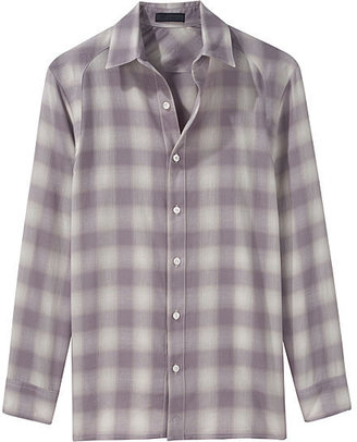 Richard Chai Love Boyfriend Button Down - Plaid Button-Down Shirts 