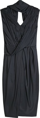 Marc Jacobs Draped Silk Dress - Clothes
