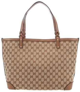 GUCCI - 'Craft' medium tote - Luxe Logo Totes
