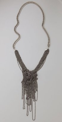 Dannijo Cecile Entangled Necklace - Statement Necklace
