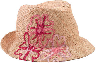 Tarnish Embroidered Fedora - Chic Summer Fedoras