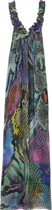 Matthew Williamson Printed silk column gown - Dresses &amp; Skirts