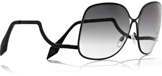 Victoria Beckham Square-frame metal sunglasses - Novelty Sunglasses
