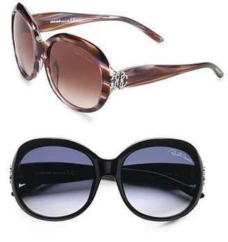 Roberto Cavalli Large Round Sunglasses - Sunglasses