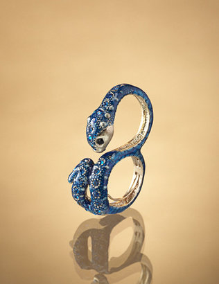 Two Finger Snake Ring, Ships 5/10 - Jewelry