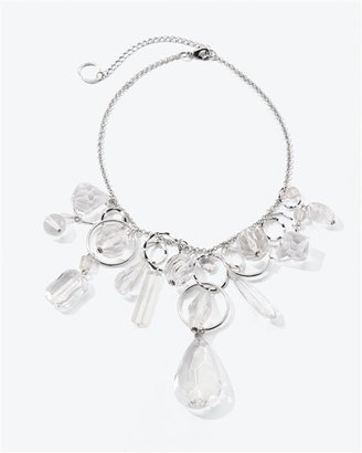 Short Crystal Stone Necklace - Clearly Amazing 