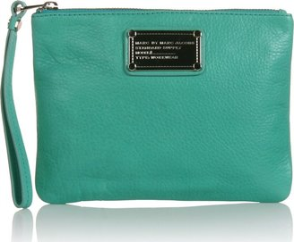 Marc By Marc Jacobs Leather Wristlet Clutch - Wristlets