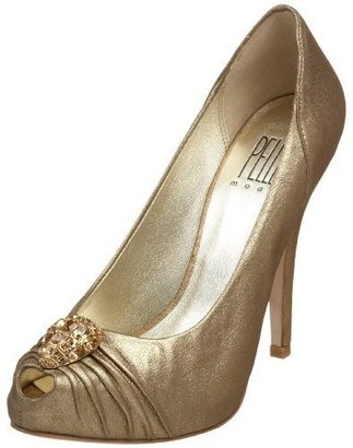 Pelle Moda Women&#39;s Gunda Peep Toe Hidden Platform Pump - Pelle Moda