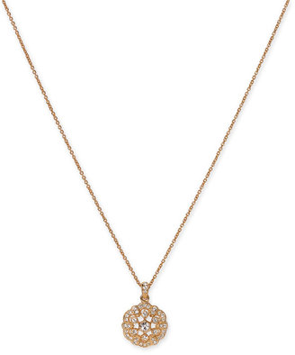 Nadri Snowflake Pendant Necklace - Nadri