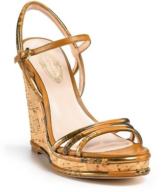 Elie Tahari &quot;Charlotte&quot; Cork Wedges - Elie Tahari
