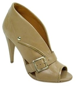 Pour La Victoire - Women&#39;s Riana Fold Down Zip Up Heels - Peep Toe Pumps