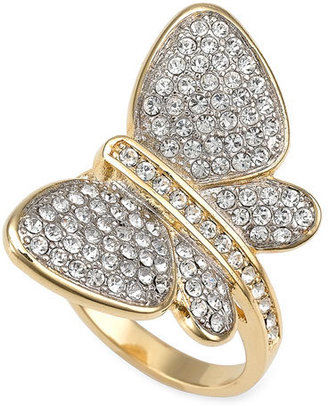 Ariella Collection 'Fluttering Butterfly' Ring - Ariella Collection