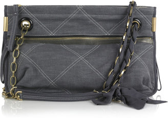 Lanvin Amalia denim shoulder bag - Spring&#39;s Trendy Purses