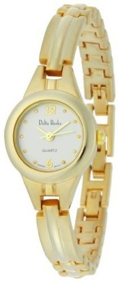 Delta Burke Women&#39;s 79019 Gold-Tone Pyramid Bracelet Watch - Beautiful Bracelet Watches 