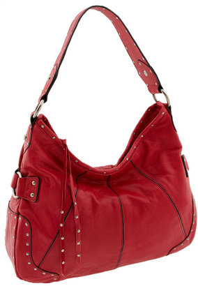 Steven by Steve Madden 'French Martini' Studded Hobo - Studded Hobo Bag