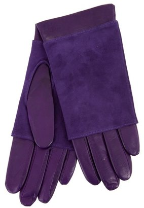 LABOUR OF LOVE - Leather and suede gloves - Leather Gloves
