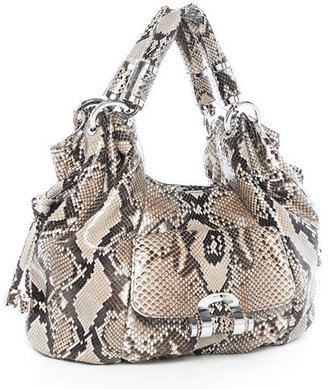 Michael Kors Tonne Python Shoulder Tote - Michael Kors