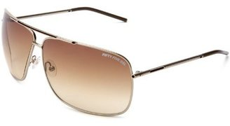 Diesel Men&#39;s Chakra/S Metal Sunglasses - Dress Like George Clooney