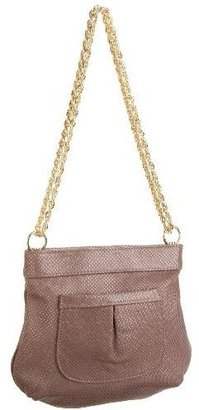 Lauren Merkin Tess Perforated Lamb Chain Handle Evening Bag - Leather Purse