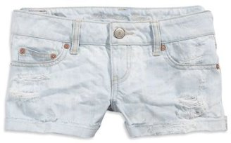 AE Light Denim Shortie - Clothes