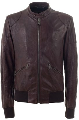 DOLCE &amp; GABBANA - Leather bomber jacket - Dolce &amp; Gabbana