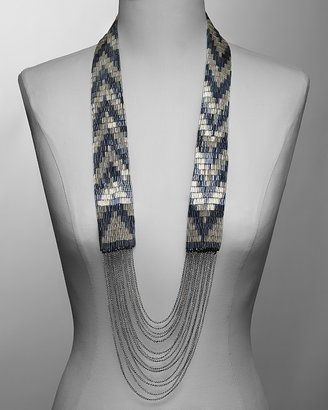 Fiona Paxton &quot;Coco&quot; Zig-Zag Necklace, 42&quot; - Statement Necklace