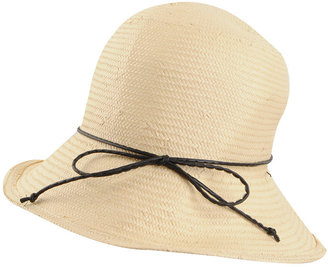 Straw Cloche Hat - The Classic Cloche