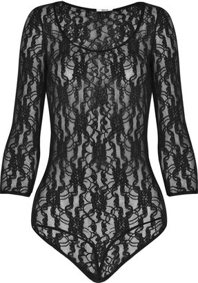 Wolford Souvenir lace string bodysuit - Erin Lucas&#39; Fashion Fantasy