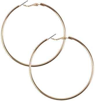 Thin Hoop Earrings - Forever 21