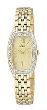 Citizen Women's Eco-Drive Diamond Bracelet watch #EW9742-56P - Timeless Gold and Diamond Watches