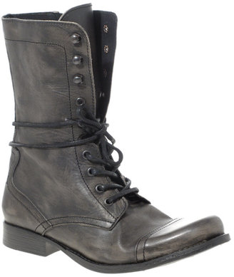 ASOS Military Lace Up Boots - Asos