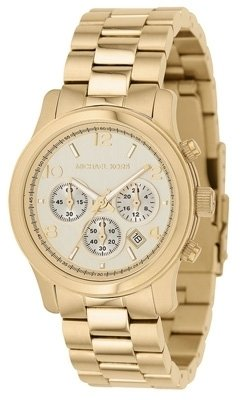 Michael Kors - Gold Jet Set Iconic Chronograph Watch - Incredibly Gold Watches for Men