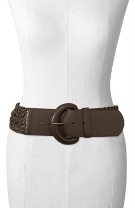 Belgo Lux Woven Strand Belt - Oversized Belt