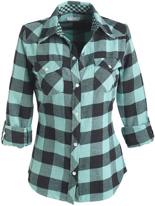 Elisa Flannel Shirt - Flannel Shirt