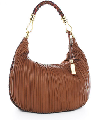 MICHAEL KORS Skorpios Pleated Hobo - Michael Kors Spring 2010